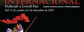 Calendario del 43er Festival de Teatro Internacional