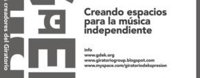 5ta edición del Giratorio festival