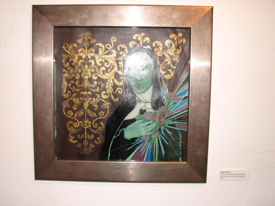 Admin Torres - Estudio para pintura de Santa Maria