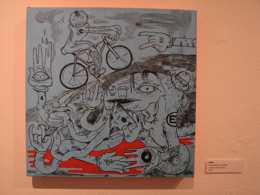 Nepo - La maldicion del ciclista