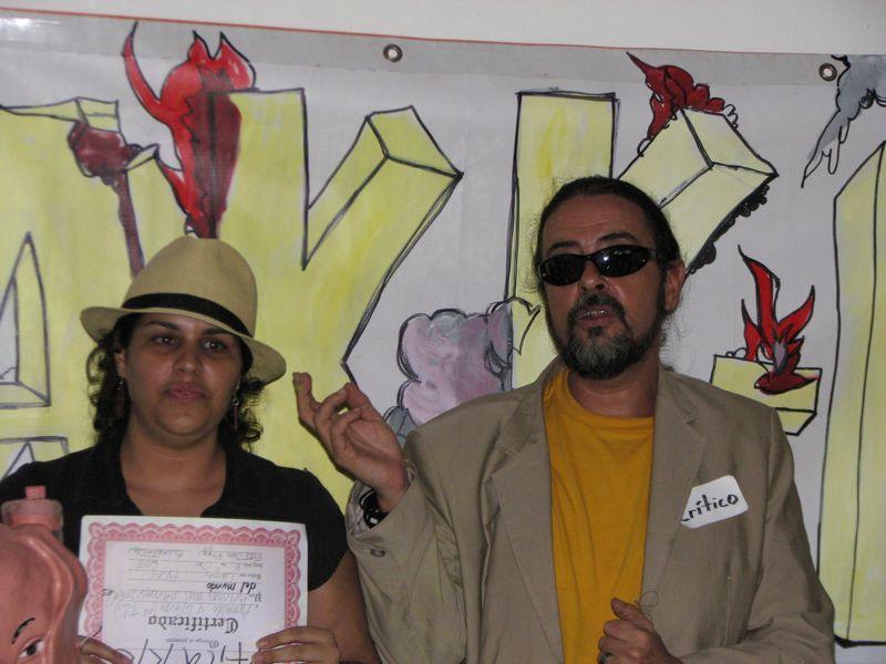 Lilliam Nieves (Trance Liquido) y Teo Freytes (MSA Xperimental)