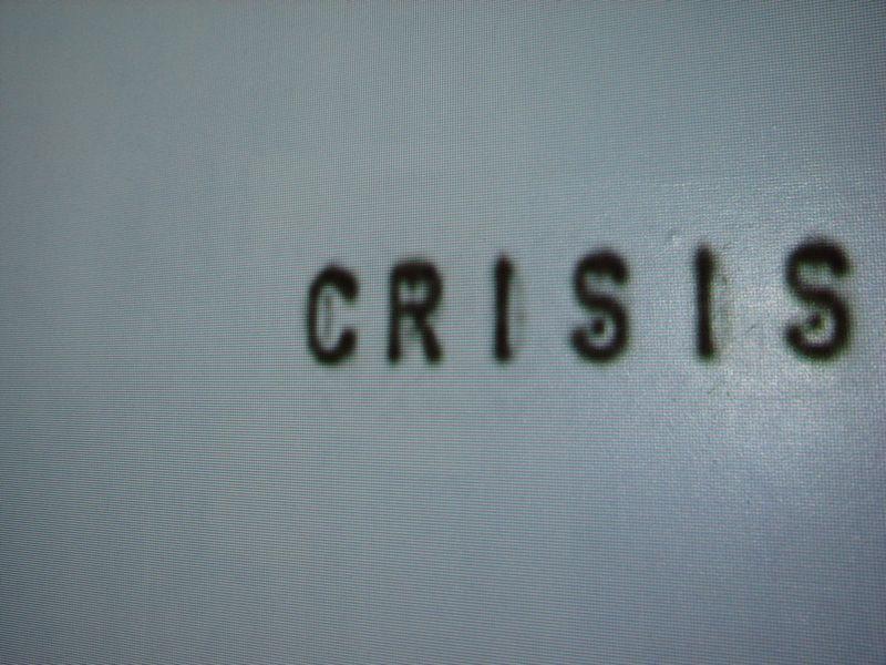 Crisis en Sagrado