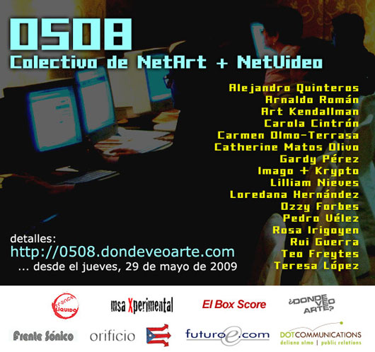 0508 : Collective NetArt + NetVideo