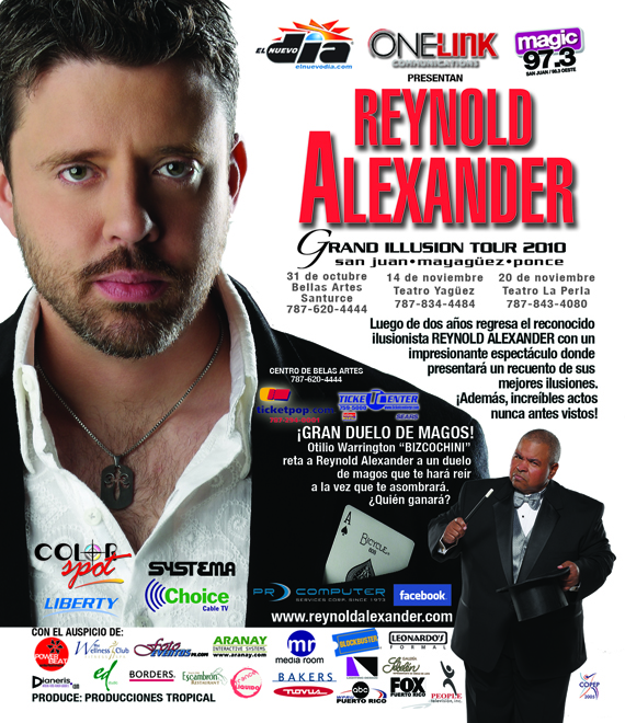 Reynold Alexander Illusion Tour 2010