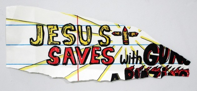 Jesus Saves by Michael Scoggins.