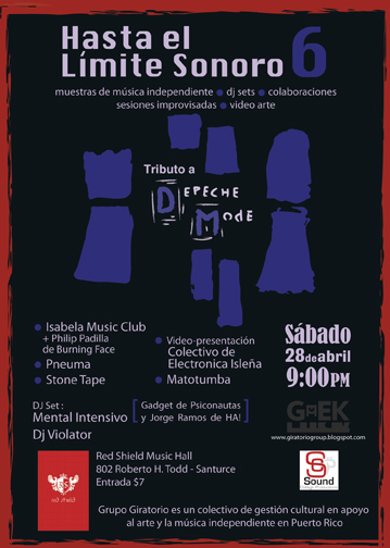 Serie Hasta el Límite Sonoro 6 curada por Grupo Giratorio