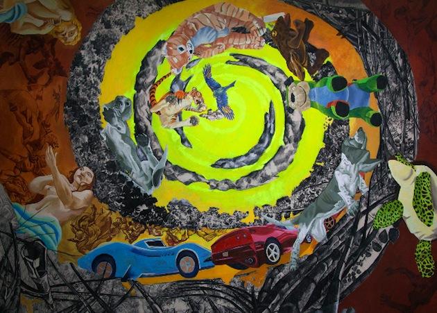 Looking Up: trabajos recientes de Nathan Budoff en el Museo de Arte de Caguas