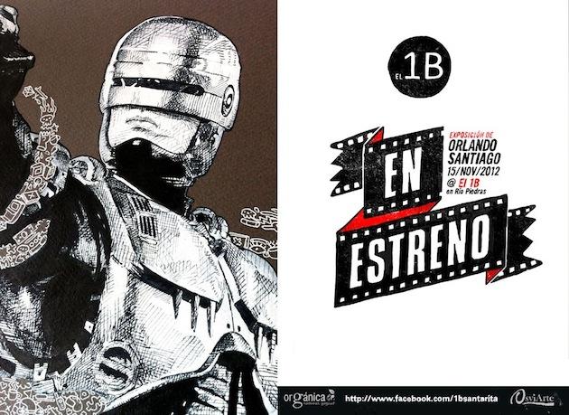 En Estreno – exhibición individual de Orlando Santiago