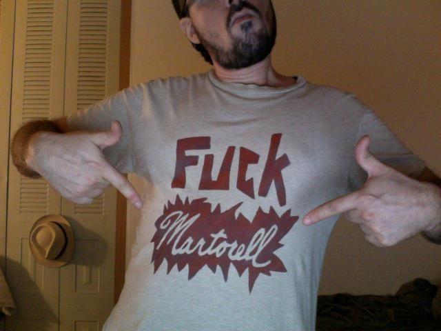 Fuck Martorell T-shirt